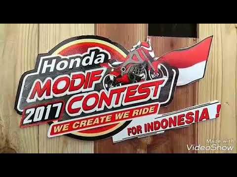 Honda Modifikasi Contest 2017