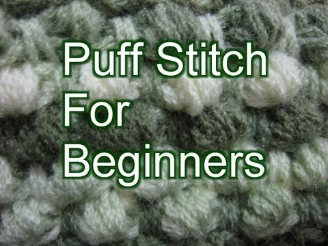 Crochet Puff Ch