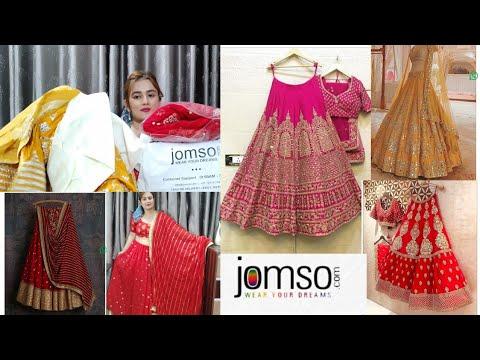 Designer Lehenga For Bridal, Engagement ,Reception, Haldi / JOMSO Lehengas / SWATI BHAMBRA
