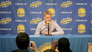 Kerr passionately defends Warriors