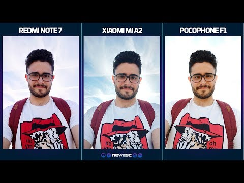 REDMI NOTE 7 vs MI A2 vs POCOPHONE [Test de cámara]