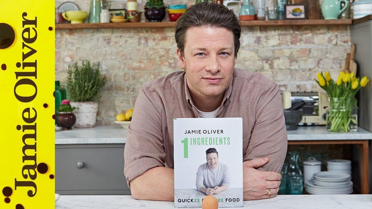 jamie s new book 1 ingredients quicker easier food youtube. Black Bedroom Furniture Sets. Home Design Ideas