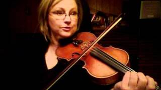 Theme from Witches Dance by Paganini, Suzuki Violin Book 2, Practice video