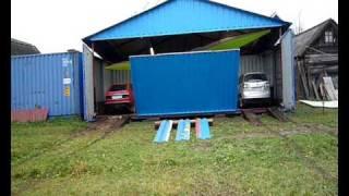 видео Гараж на даче. Из чего можно сделать гараж?