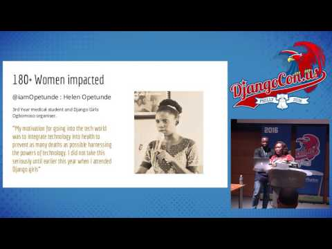 DjangoCon US 2016 - The Impact of Women Learning to Code in ... by Aisha Bello and Ibrahim Diop