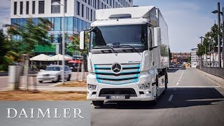 The new Mercedes-Benz eActros