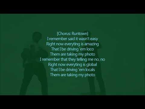 Nasty C & Runtown -  Said (Lyric Video)