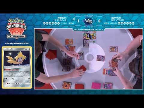 2020 Pokémon Latin America International Championships: TCG Masters Division Finals