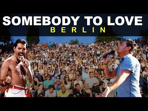 Queen - Somebody to Love (cover by Youri Menna @Mauerpark Berlin)