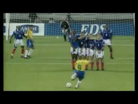 Roberto Carlos, Vladimir Marin Free Kick