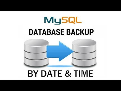 How to Backup MySQL Database Automatically