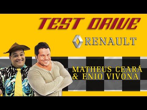 TEST DRIVE RENAULT OROCH COM ENIO VIVONA | Matheus Ceará |
