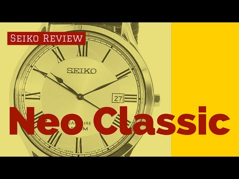 Seiko Neo Classic Watch Review-  Legit Dress Watch At 100.00?