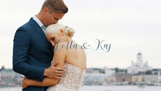 A City Wedding By The Sea - Lotta and Kaj