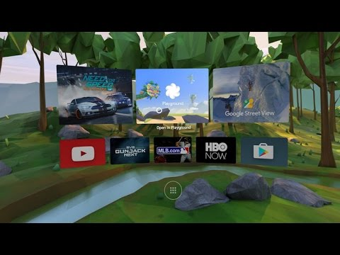 The Google's new DayDream Vr Headset Reference design, hardware to start arriving in the fall