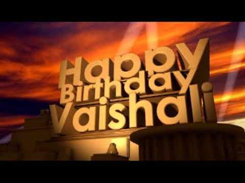 Happy Birthday Vaishali