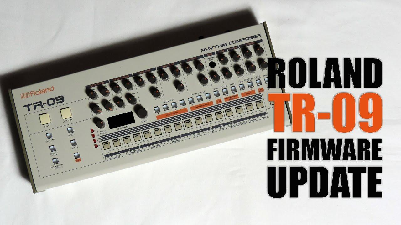 roland tr 09 firmware update tutorial youtube. Black Bedroom Furniture Sets. Home Design Ideas