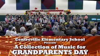 Centreville Elementary School Grandparents Day Concert 2018