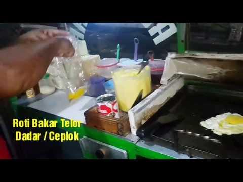 Jajanan Hits - ROTI BAKAR TELOR DADAR / CEPLOK