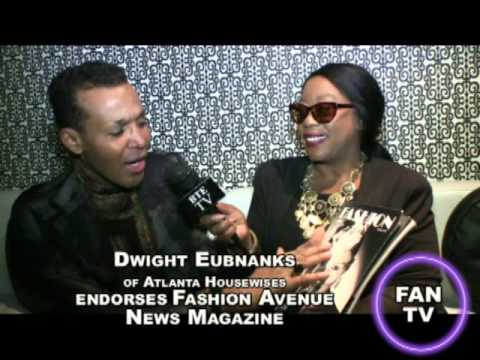 Fashion Avenue News Magazine Interviews Dwight Eubanks