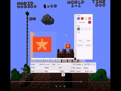 3DNes : Mario - Pipes - Vietnamese Flag - Water World
