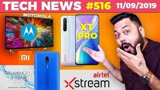 Realme XT Pro Image, Motorola Smart TV, Redmi 8A, Airtel Xtream 1GB Fiber, Mi Water Purifier-TTN#516