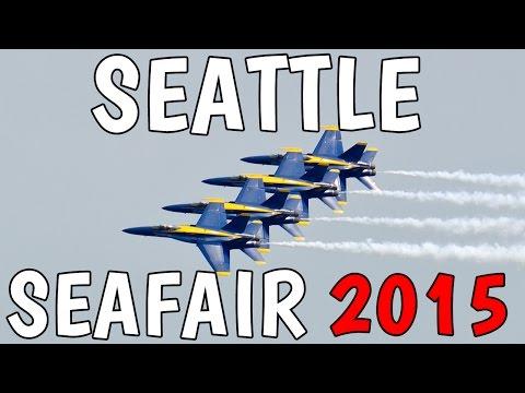 2015 Seattle Seafair Air Show - Blue Angels