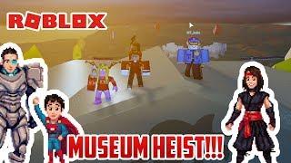 Roblox: MUSEUM HEIST FAIL! JAILBREAK