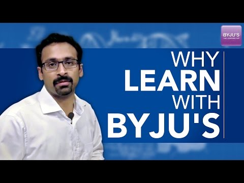 Why Learn with Byju's
