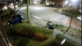 Bike hits the fence  - 983955
