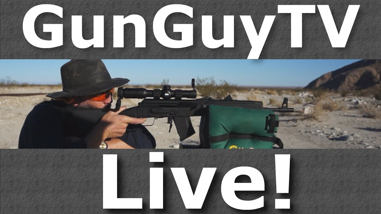 GunGuyTV Monthly Live Stream - Feb 2020