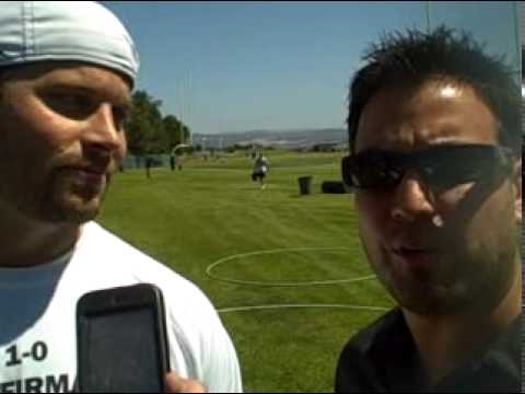 NNS @ RAIDERS PRACTICE w/ Jon Condo + Michael Huff