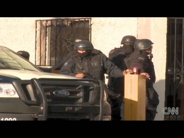 Bodyguards aim to kill in Mexico drug war