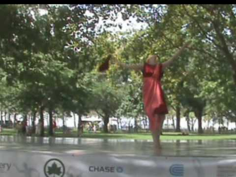 Isadora Duncan's choreography, performed by isadoraNOW at the Downtown Dance Festival