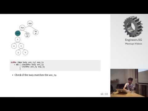 Damas-Milner type system - Haskell.SG