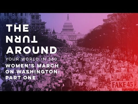 Still Fired Up From The Women's March? Relive It In Virtual Reality