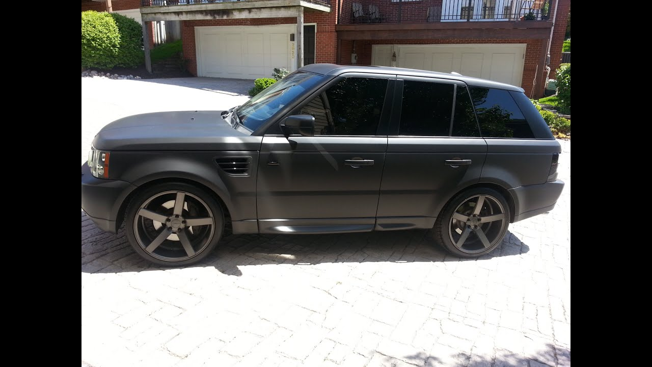 Micah Lacerte s Stealth Black Matte Range Rover Magnaflow Vossen