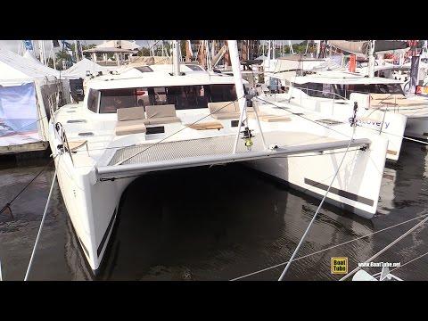 2017 Fountaine Pajot Saba 50 Catamaran - Deck and Interior Walkaround - 2016 Annapolis Sailboat Show