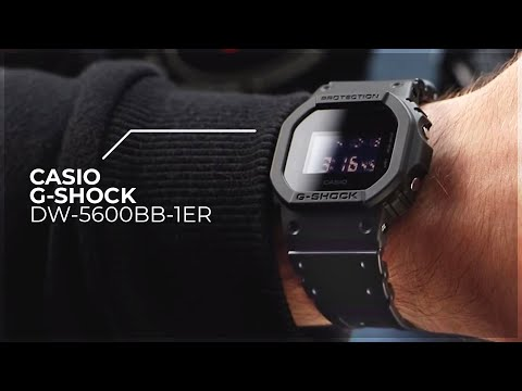 Casio G-Shock DW-5600BB-1ER - On The Wrist