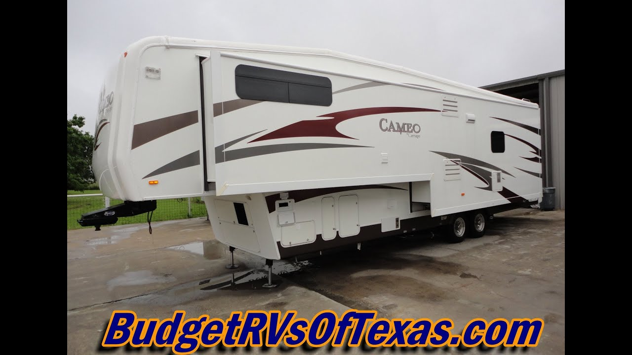 2010 36ft Cameo F36fws By Carriage Luxury 5th Wheel Youtube