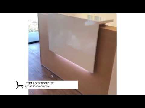 Tera Reception Desk By MDD Office Furniture