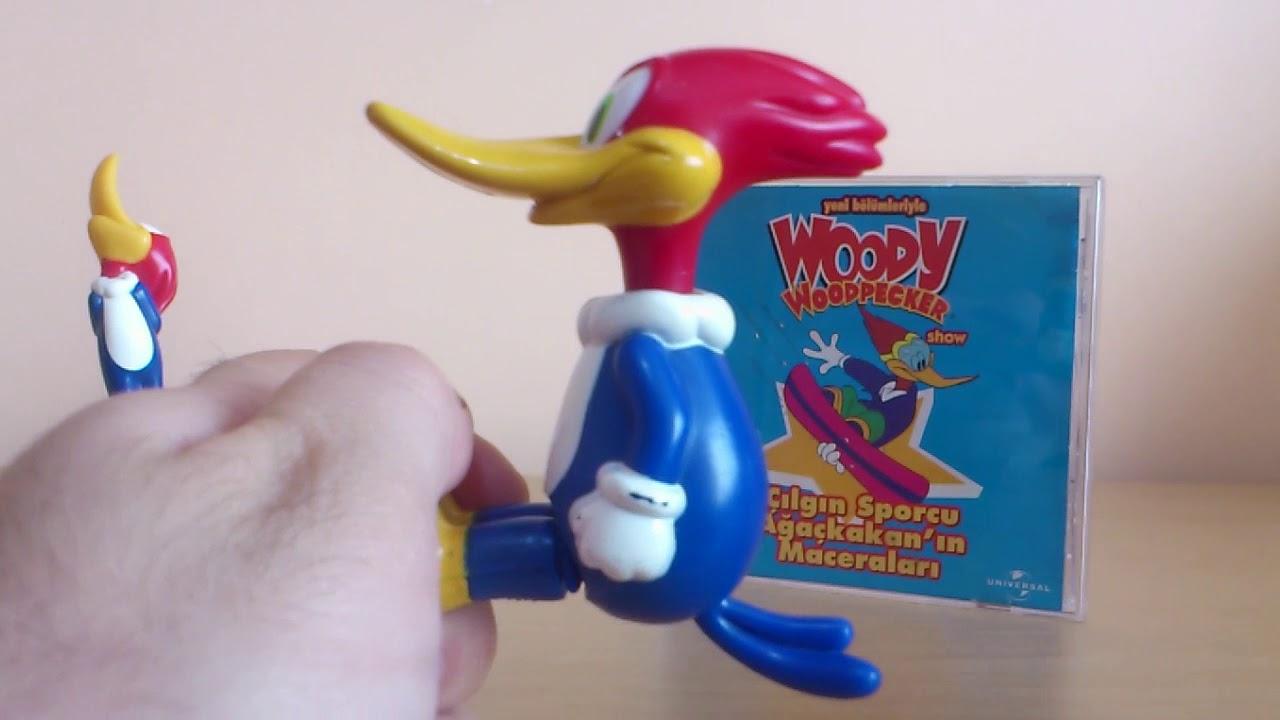 Ağaçkakan Woody Çizgi Film Ve Oyuncak Figür İncelemesi (Woody Woodpecker)