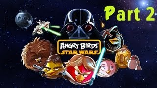 Lets Play Angry Birds Star Wars Part 2 - Blaster Pistols