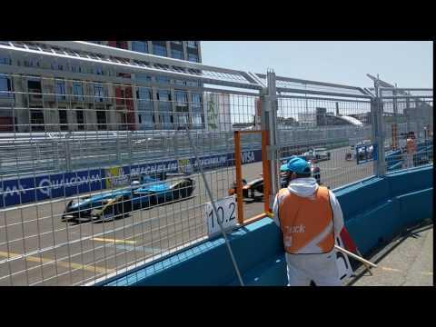 Formula E Brooklyn 2017. Start of the race on Sunday, 7/16/17