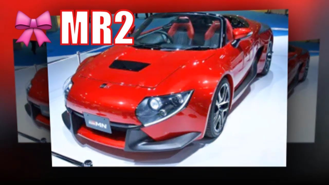 2020 Toyota Mr2 Concept Turbo Review New Cars