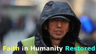China's most unusual philanthropist street-cleaner | Faith in Humanity Restored