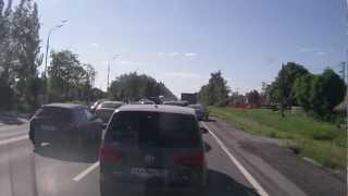 ДТП ВАЗ И VW Туарег(, 2012-11-26T20:34:07.000Z)