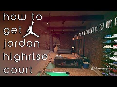 NBA 2K17 How to get high rise Michael Jordan court