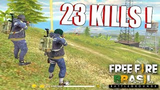 23 KILLS CRUSHER FOOXI E CHIN - FREE FIRE BATTLEGROUNDS