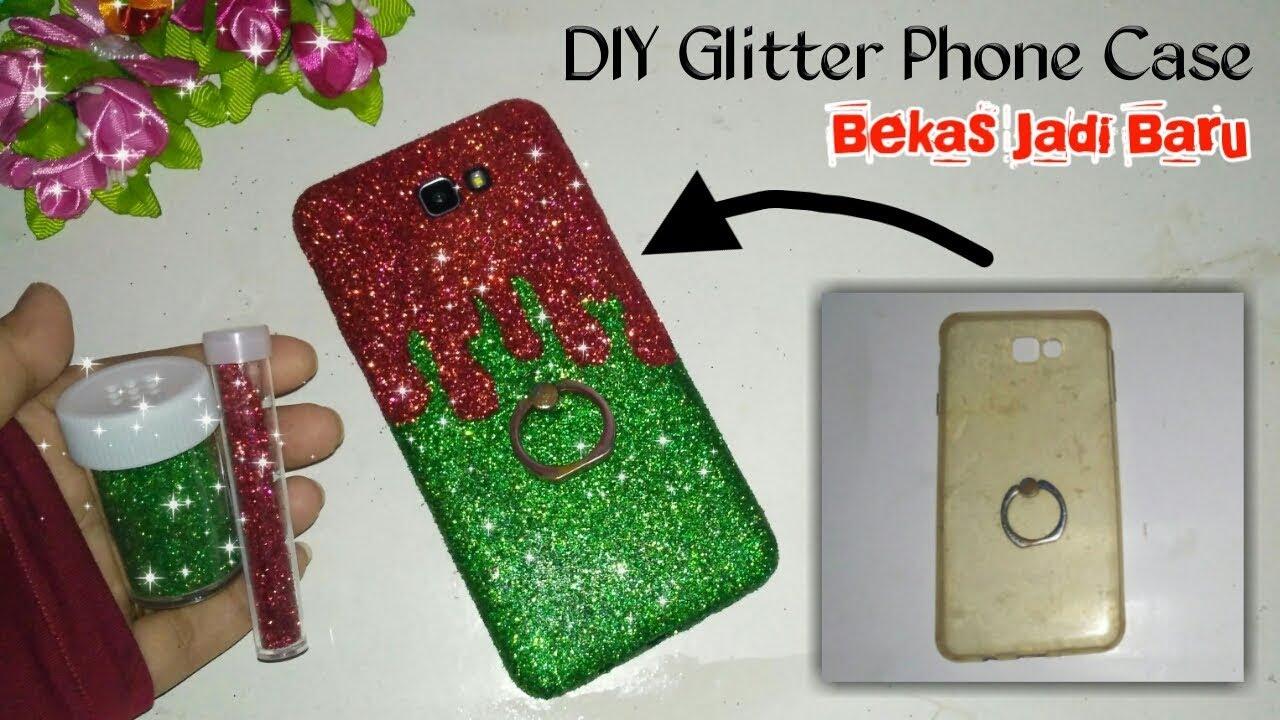promo code 5e3c6 c6769 Cara membuat case hp glitter bekas menjadi baru |,| How to make glitter  phone case